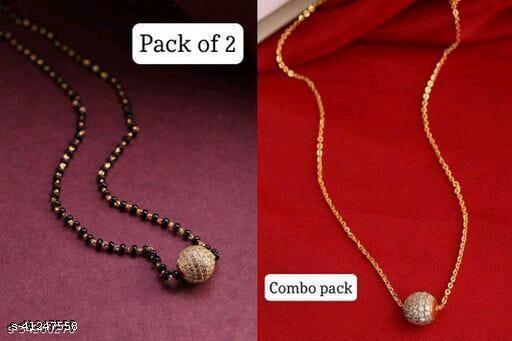 Allure Stylish Combo   Mangalsutra  For Women