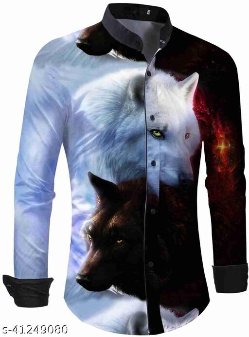 printed shirt fabric for men