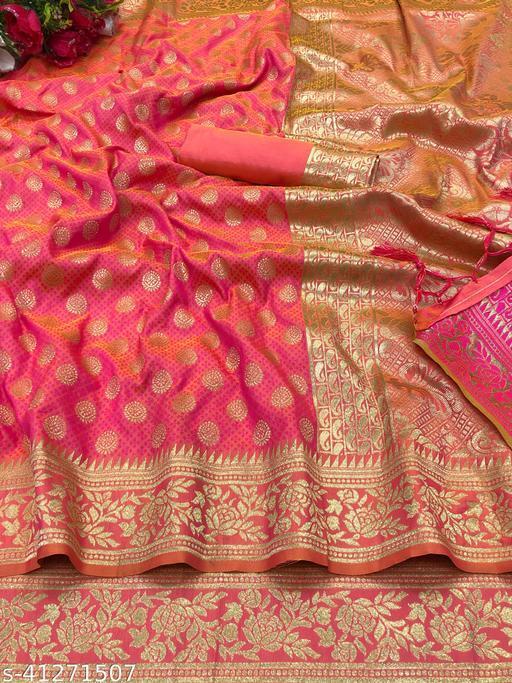Sensational Banarasi Silk Sarees Vol 22
