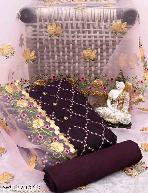 Keshvi Chanderi Gotta Patti Salwar Suits & Dress Materials Vol-20