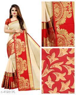 Trendy Stylish Chanderi Cotton Women's Saree