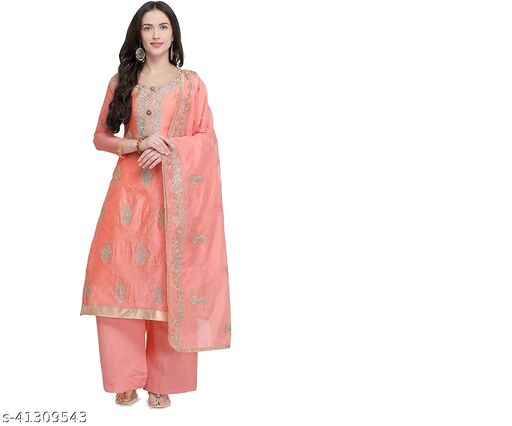 Deetya Arts Chanderi  Set will complement your ethnic look&will look smart. A perfect gift for women & girls for all occasions can be used These Kurti.