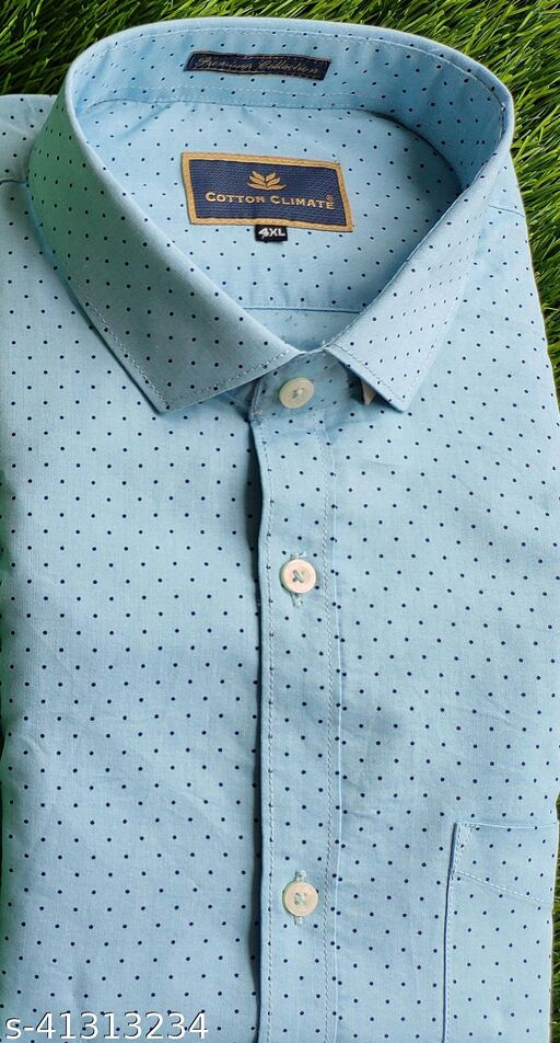 Mens Pure Cotton Shirts in Premium Quality