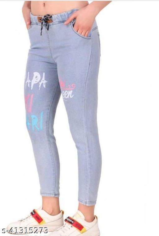 Urbane Glamorous Women Jeans