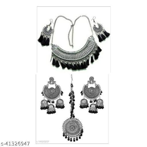 Women silver Jwellery set styish