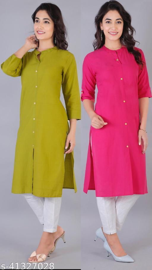 Trendy Cotton Kurtis Combo