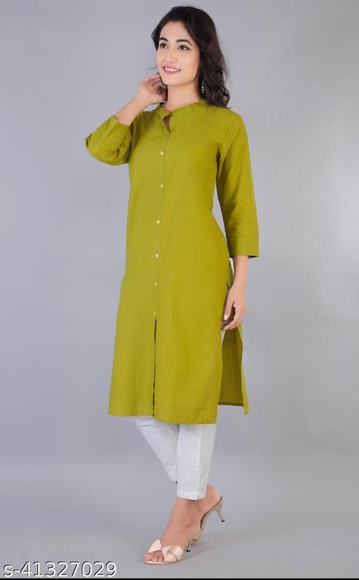 Trendy Pure Cotton Kurti