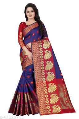 Fashion Feats elegant cotton silk saree