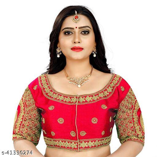 Designer Heavy Embroidery And Stone Work Blouse