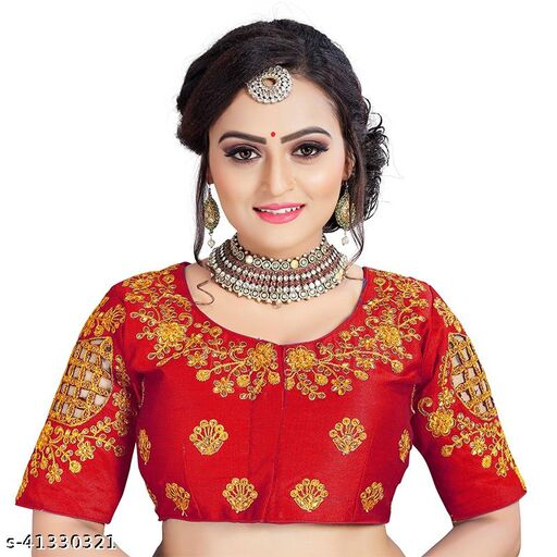 BollywoodDesigner Embroidered Blouse For Women And Girls