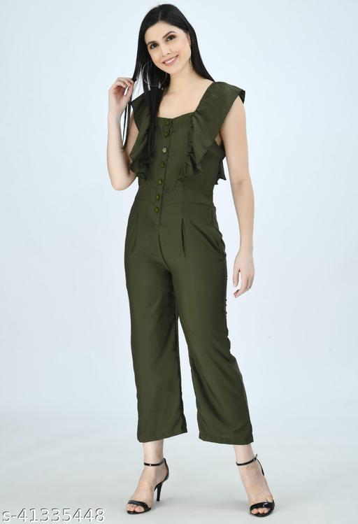 Green Jumpsuit for Women