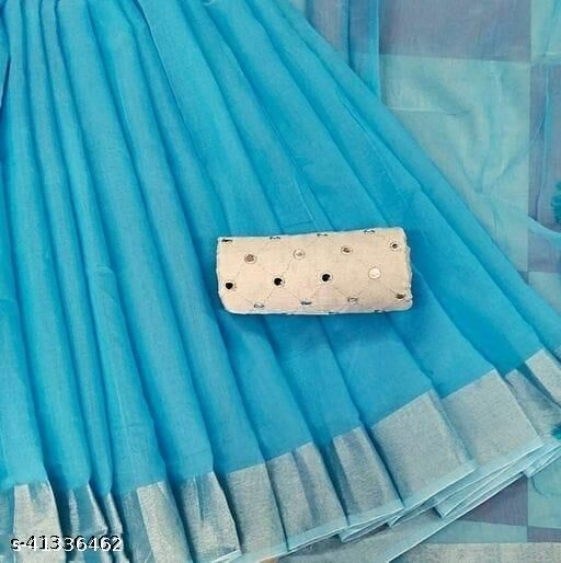 Divya Colourful Cotton Silk Saree