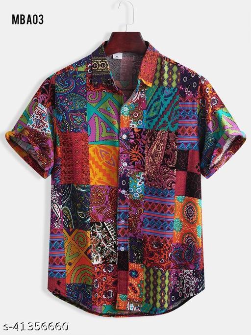 Piyora Men's Premium Cotton Party Wear Shirt