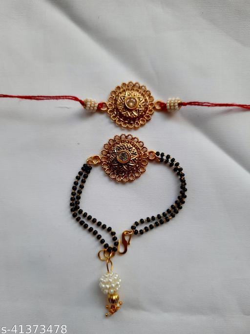 Shimmering Fancy Rakhi