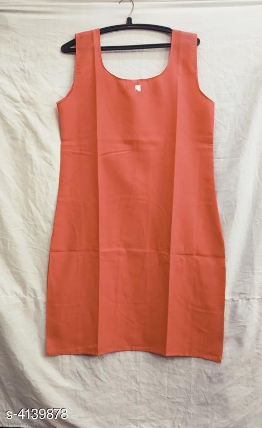 Comfy Women's Cotton Solid Long Camisoles Slip
