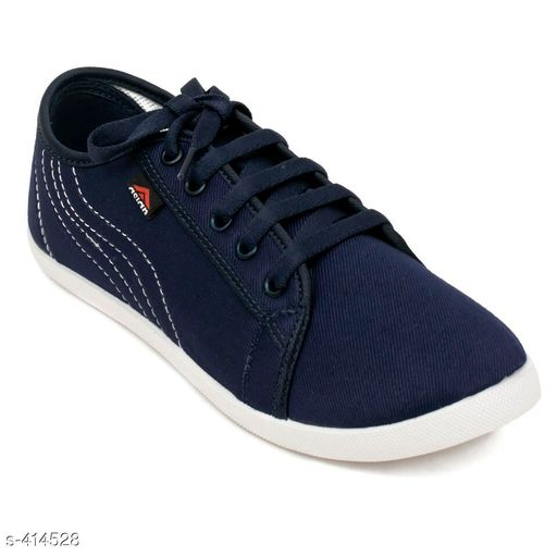 Casual Shoes Stylish Canvas Women's Footwear (MRP- Rs 499)   *Material* Canvas   *UK/IND Size* 4, 5, 6, 7, 8   *Euro Size* 37, 38, 39, 40, 41   *Closure* Lace Up   *Description* It Has 1 Pair Of Women's Footwear   *Pattern* Solid   *Disclaimer* Maximum Retail Price (MRP) mentioned in product name.  *Sizes Available* IND-8, IND-5, IND-6, IND-7 *   Catalog Rating: ★4 (433)  Catalog Name: Classy Women's Casual Shoes Vol 11 CatalogID_44846 C75-SC1067 Code: 804-414528-