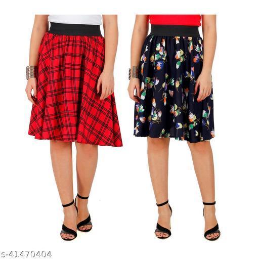 Elegant Latest Women Western Skirts