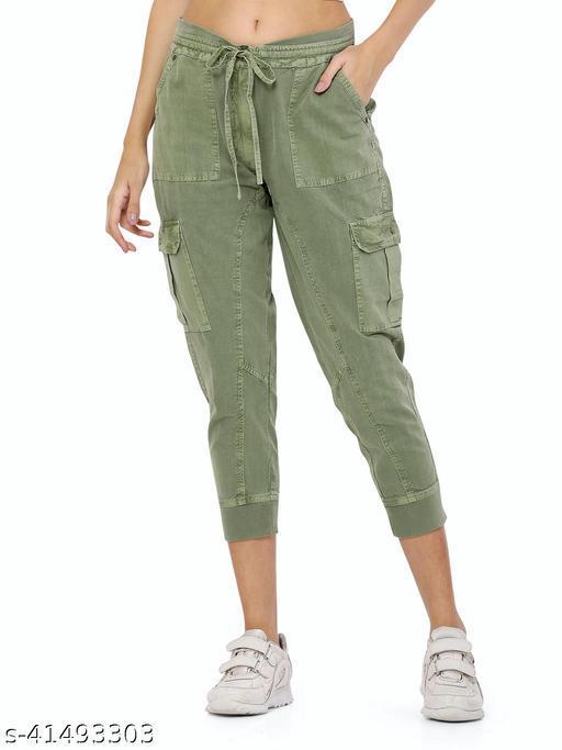 stylemyth - fashion point Women Denim Green Jeans