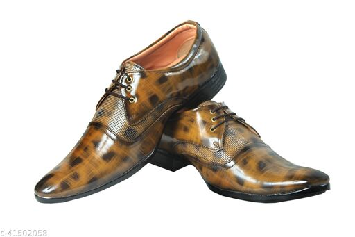 Thriving Toes Men's Lace-Up Formal Shoes