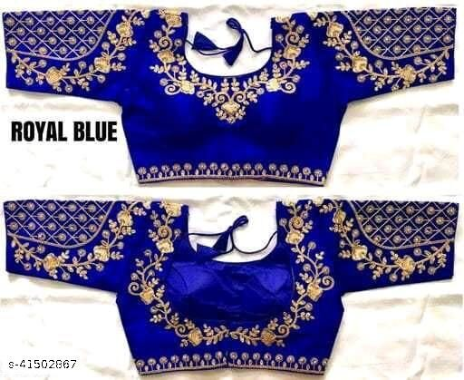 HEAVY EMBRODERY DESIGNED BLOUSE BY  MAA CREATION