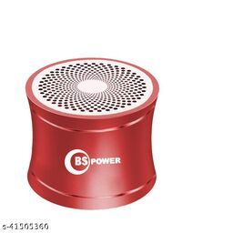 BS POWER Mini Steel Bluetooth Speaker with bass Radiator, Enhanced Impactive Loud Clear Vocal, Portable Loud Speaker, Perfect Travel Wireless Speaker for Home, Hiking and More