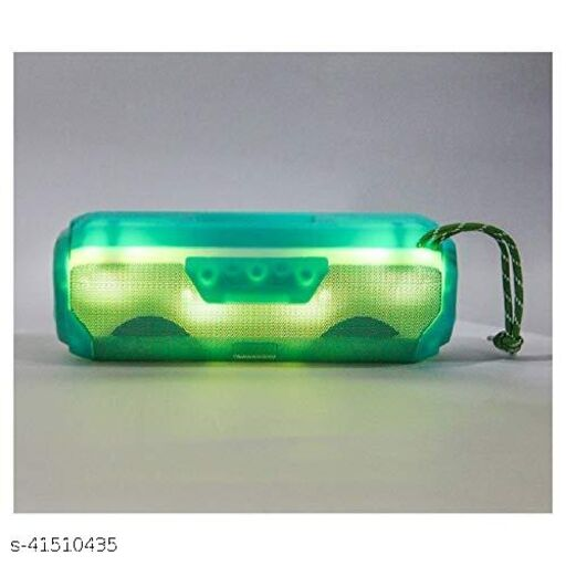 A006 Bluetooth Speaker, Portable Stereo Speaker with HD Audio LED flickers Multicolour Lights