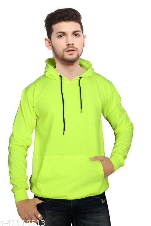 Full Sleeve Solid Men & Women's Cotton Blend Sweatshirt