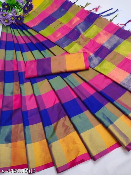 Fancy Designer Floral printed Silk Saree