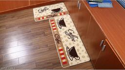 Kunj collection Digital Printed Anti Skid Rubber Door Mat Combo for Home, Kitchen and Office -Pack of Two, Large Mat (40x120 in), Small Mat (40x60 in)(Multi)
