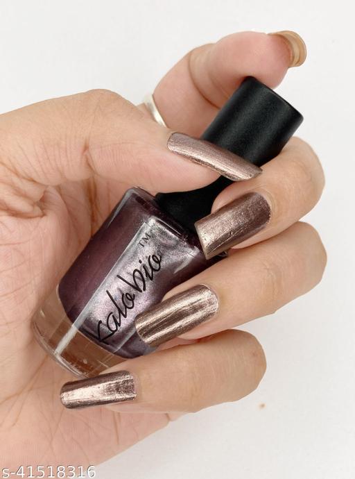 KALOBIO Metallic Nail Enamel - Peanut M17