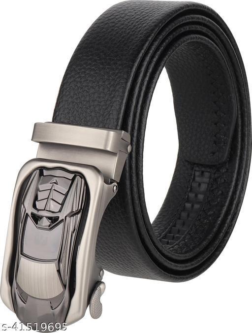ZORO Autolock Grip PU Leather Belt - Black