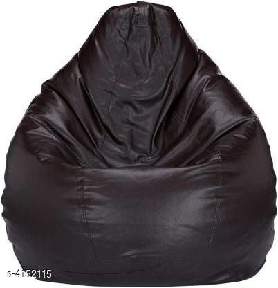 VSK XXL Bean Bag Cover Brown(Without Beans)