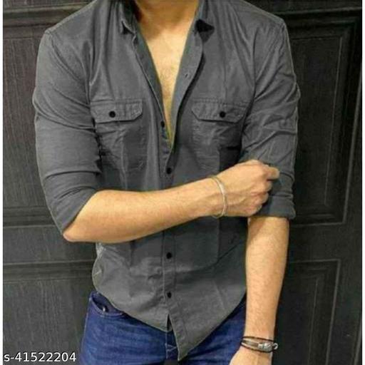 Men's Cotton Full Sleeves Regular Fit Casual Shirt
