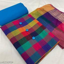 Fancy Cotton Slub Suits & Dress Material