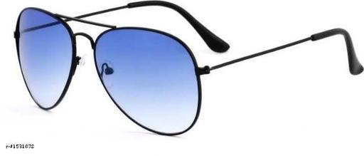 Aviator Sunglasses For Men And Women Black Blue