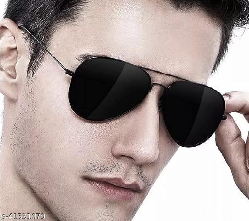 Aviator Sunglasses For Men And Women Black, Black