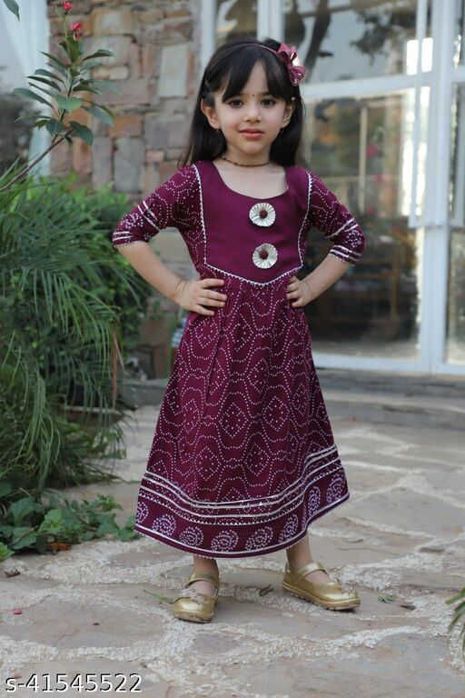 Graceful Girls Ethnic Gowns