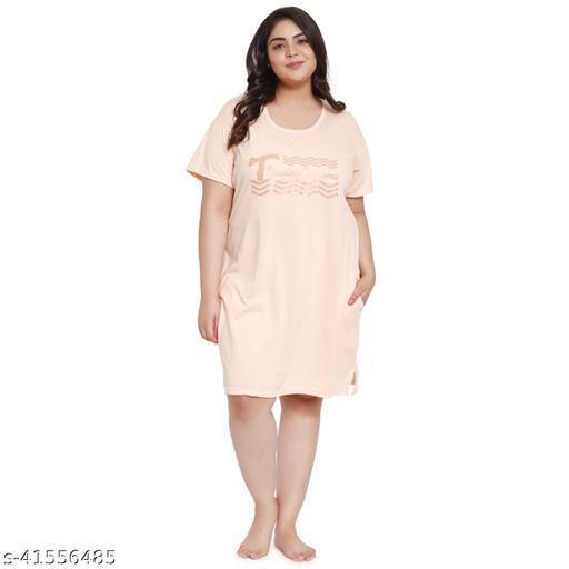 Long comfort t-shirt for women