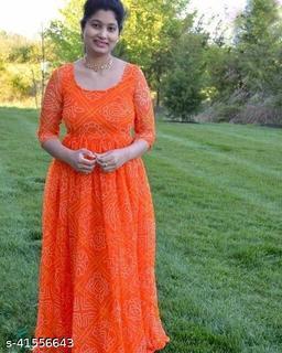 Pretty Graceful Women gown