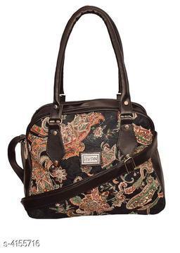 Elegant Fancy PU Leather Handbag