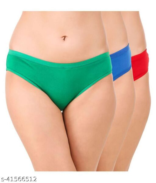 Women Bikini Green Panty