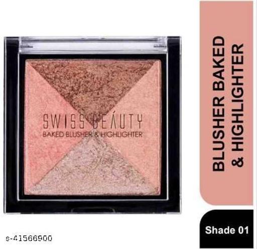 YDMV Swiss Beauty Baked Blusher & Highlighter SB-806  (Shade-01)