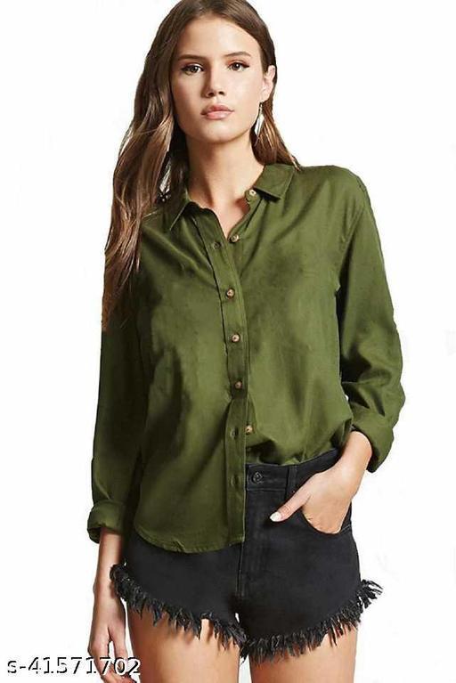 SAMAN FASHION WEARWomen Regular Fit Solid Casual Shirt