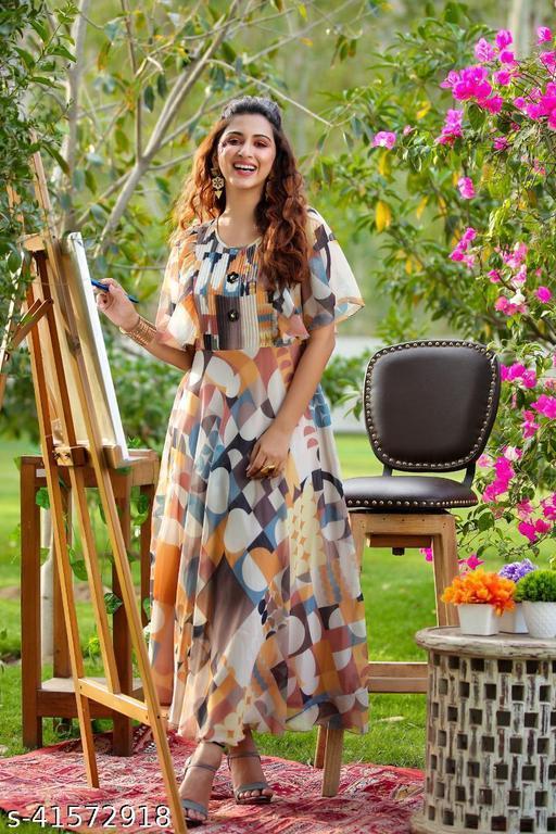Trendy Partywear Women Gowns