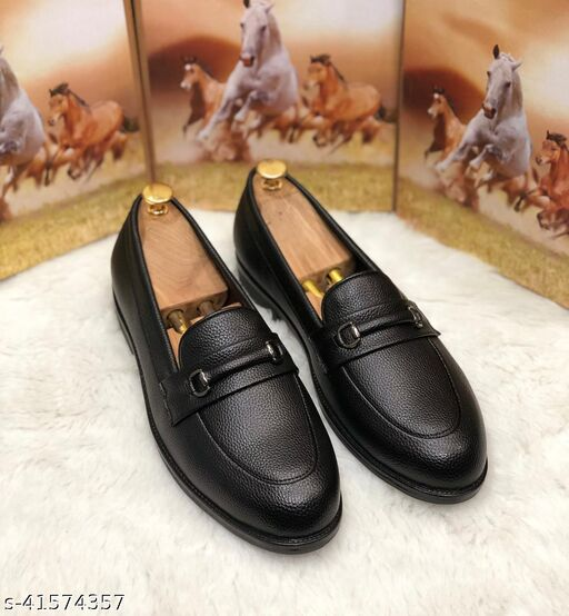 Relaxed Trendy Men Formal Shoes