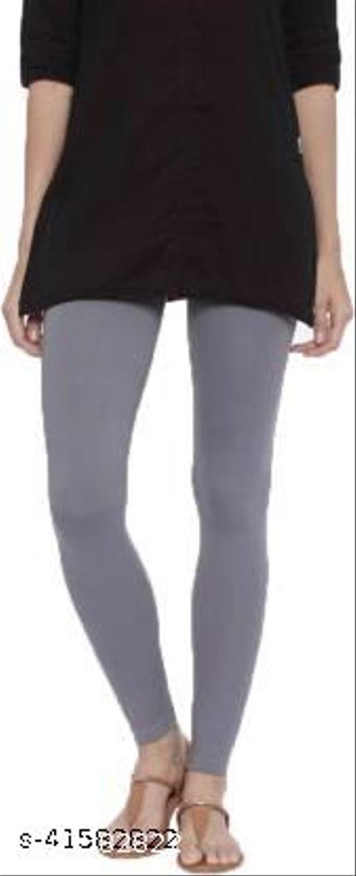 MetroMis Chunidar Cotton Grey Legging