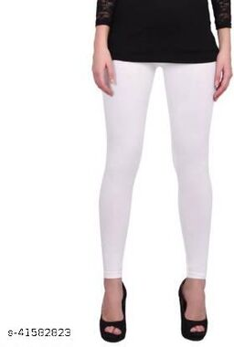 MetroMis Chunidar Cotton White Legging