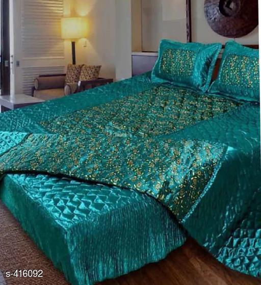 Elegant Silk Bedsheet