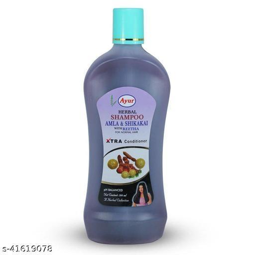Ayur Amla Shikakai With Reetha Shampoo 500ml