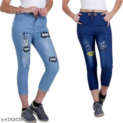 Fancy Modern Women Jeans